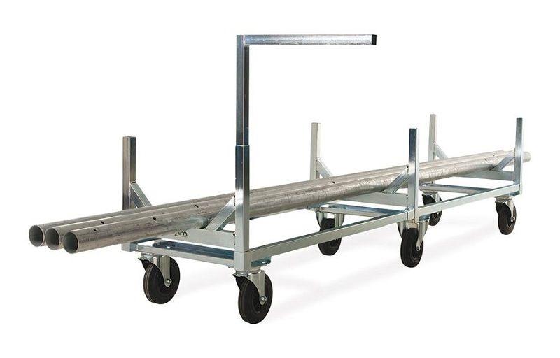 Långgodsvagn, L 2800 mm, max 800 kg