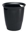 Papperskorg Trend 16-liter, svart