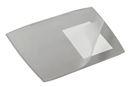 Skrivbordsunderlägg med heltäckande klaff 650x520 mm, grå