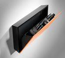 Förvaringsbox 220x410x66 mm, Svart/opalvit
