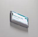 Dörrskylt ClickSign 149x52,5 mm, grafitgrå